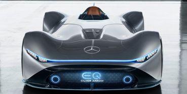 Mercedes Benz Vision EQ Silver Arrow Concept